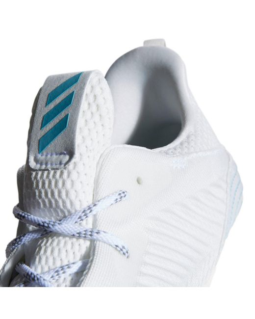 huge discount cd2fc b6779 ... Adidas - White Alphabounce Parley Running Shoes for Men - Lyst ...