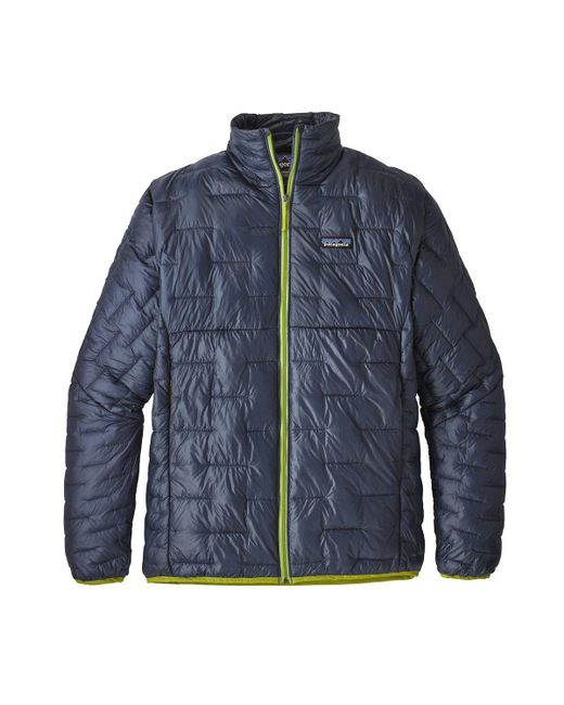Patagonia - Blue Micro Puff Jacket for Men - Lyst