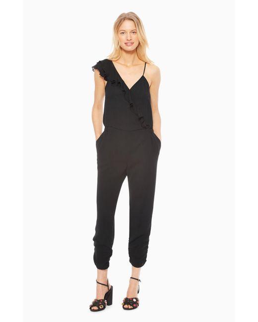 Parker - Black Addison Combo Jumpsuit - Lyst