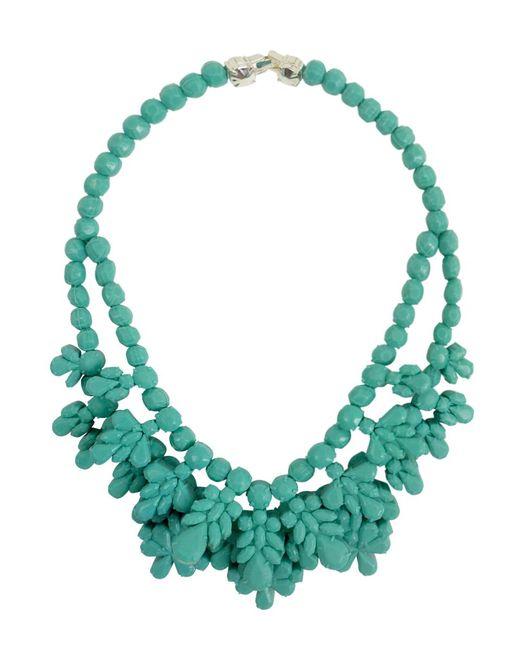 EK Thongprasert | Silicone Double Layer Neckpiece Mint Green | Lyst