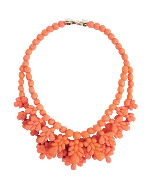 EK Thongprasert - Multicolor Silicone Double Layer Neckpiece Salmon - Lyst