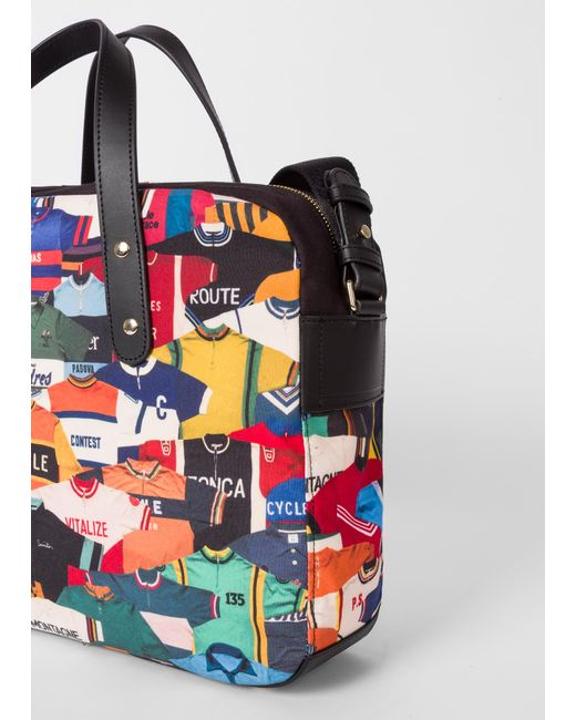 ... Lyst Paul Smith - Multicolor  cycling Jersey  Print Canvas Business  Folio for Men ... f41686ed8