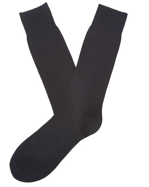 Perry Ellis - Black Microfiber Luxury Dot Sock for Men - Lyst