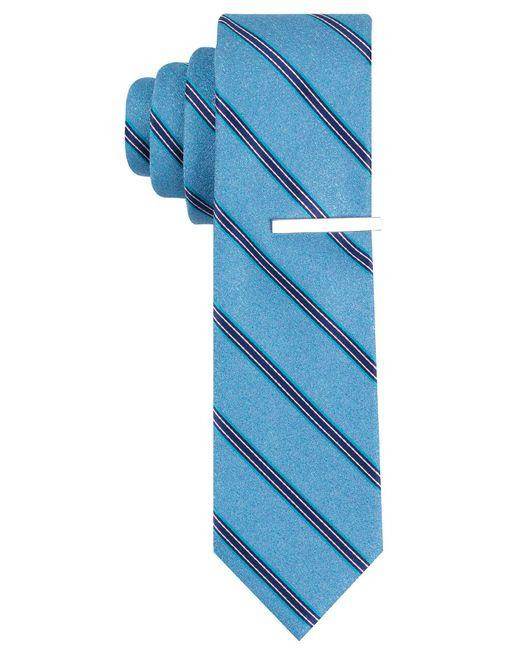 Perry Ellis | Blue Cadby Stripe Tie for Men | Lyst