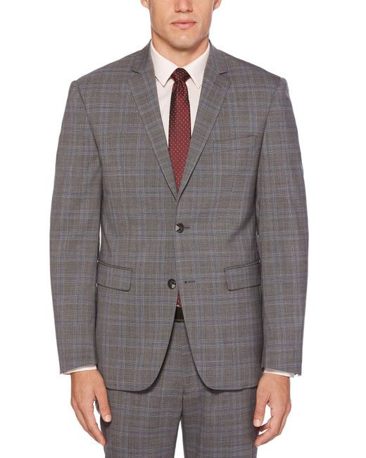 5030a543d770 Perry Ellis - Gray Modern Toast Suit Jacket for Men - Lyst ...