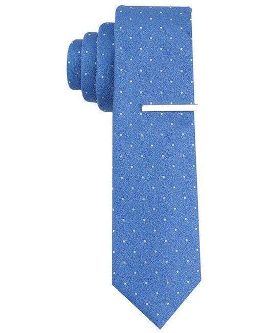 Perry Ellis | Blue Cadary Dot Tie for Men | Lyst
