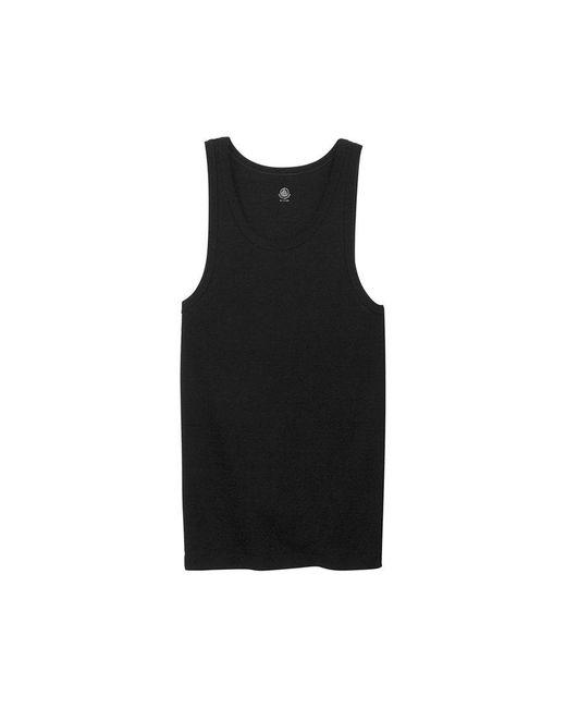 Petit Bateau | Black Men's Plain Cotton Tank Top for Men | Lyst