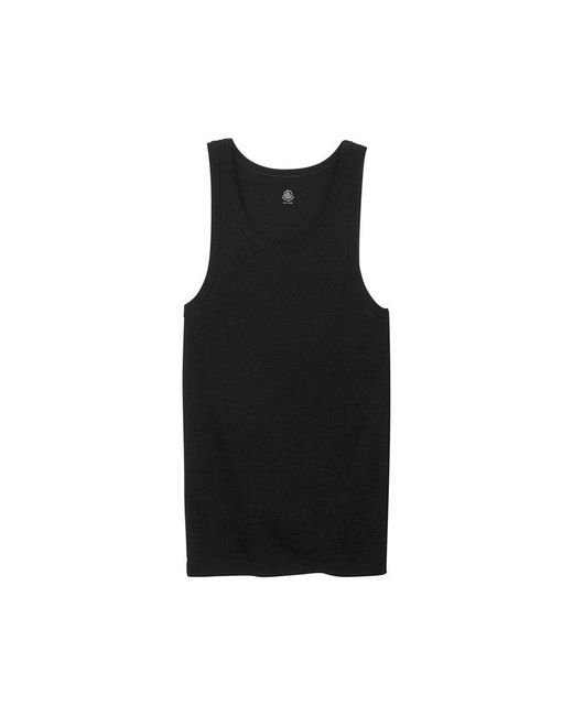 Petit Bateau | Black Men's Plain Cotton Tank Top for Men | Lyst