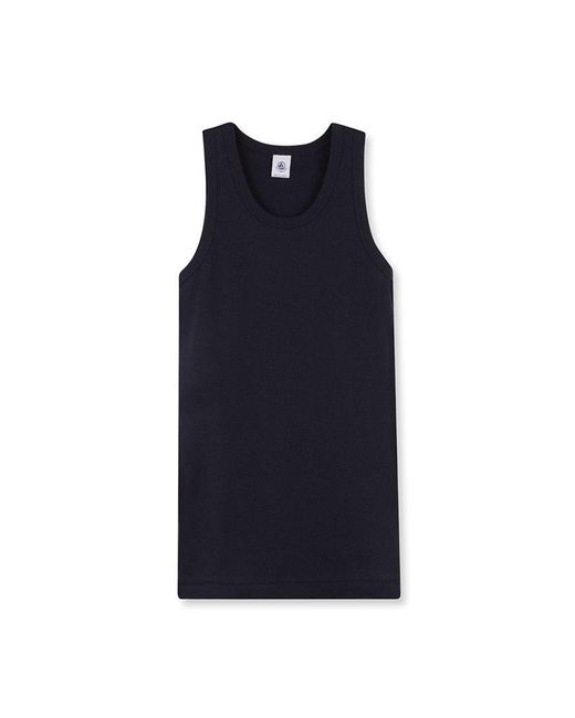 Petit Bateau | Blue Women's Plain Iconic Vest Top | Lyst
