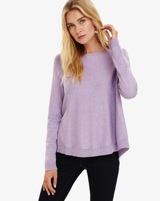 Phase Eight - Purple Terza Swing Knitted Jumper - Lyst