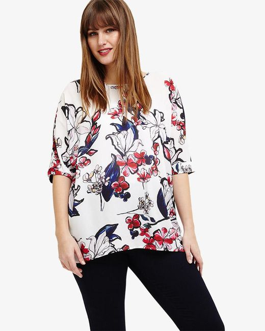 Phase Eight - Multicolor Layla Floral Top - Lyst