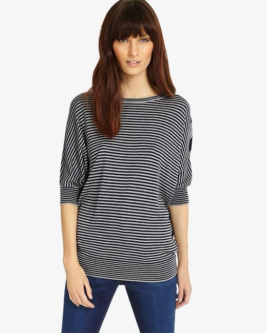 Phase Eight - Multicolor Becca Mix Stripe Batwing Jumper - Lyst
