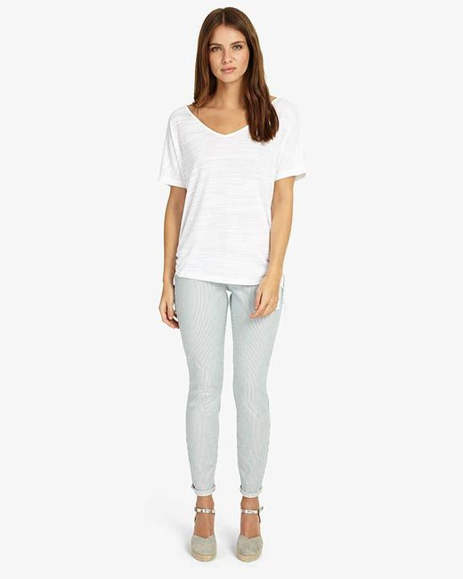 Phase Eight - Blue Victoria Vertical Stripe Jeans - Lyst