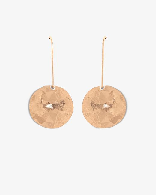 Phase Eight - Multicolor Aida Hammered Finish Disc Drop Earring - Lyst