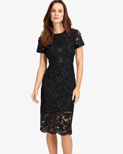 Phase Eight - Blue Darena Lace Dress - Lyst