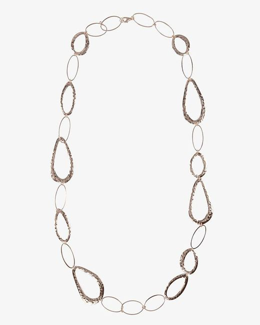 Phase Eight - Metallic Amber Necklace - Lyst