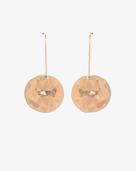 Phase Eight - Multicolor Aida Hammered Finish Disc Drop Earrings - Lyst