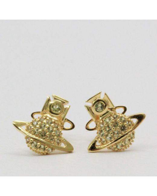 08b7f3b77 Vivienne Westwood - Metallic Tamia Earrings Gold - Lyst ...