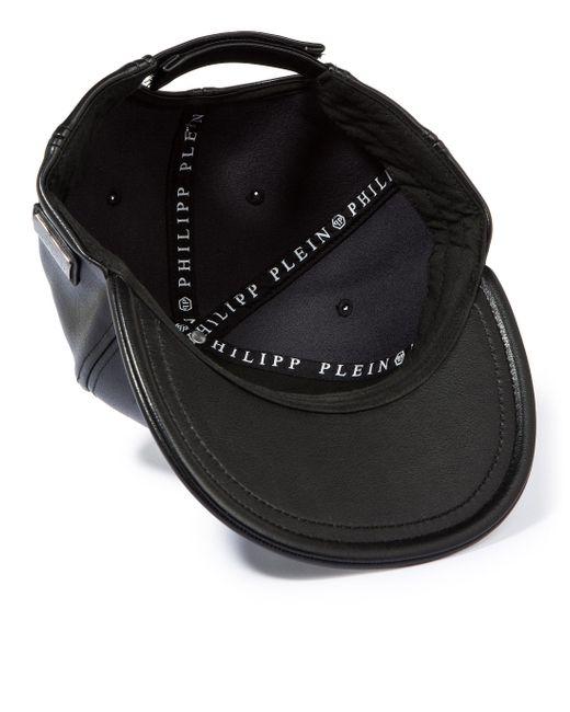 philipp plein baseball cap aventura in black for men lyst. Black Bedroom Furniture Sets. Home Design Ideas