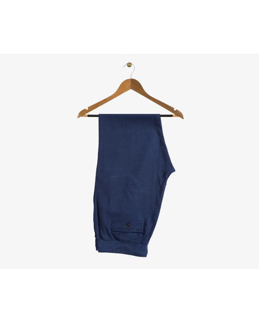 Ralph Lauren | Blue Soft Cotton Cuffed Sweatpant Navy for Men | Lyst