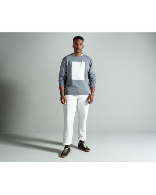 Maison Margiela - Gray Leave A Message Crewneck Sweatshirt Grey for Men - Lyst