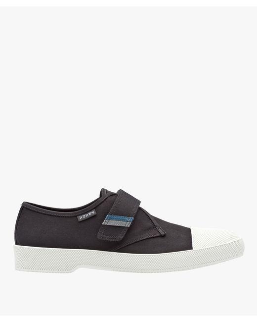 Prada - Black Gabardine Sneakers for Men - Lyst