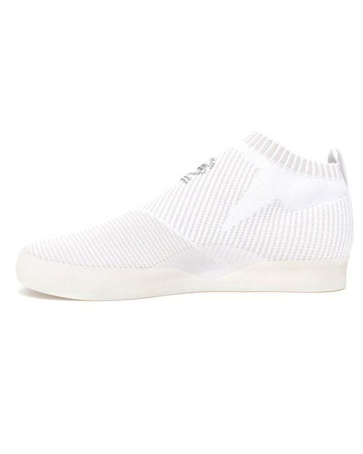san francisco ff19c 41d78 ... Adidas - White 3st.002 Pk Primeknit Shoes for Men - Lyst