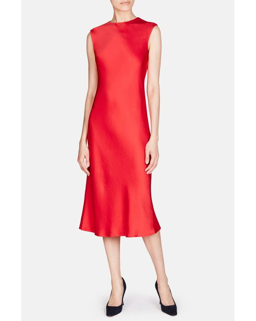 Protagonist | Red Classic Shell Dress | Lyst