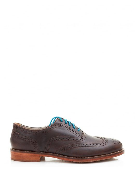 J SHOES | Brown Charlie Brogue for Men | Lyst