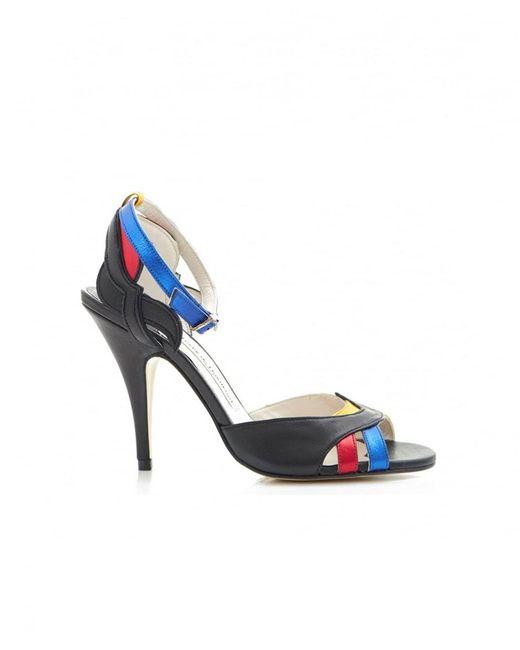Terry De Havilland - Multicolor Kate Low Heel Sling Back Shoes - Lyst