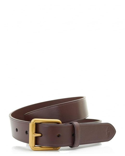 Polo Ralph Lauren - Brown Classic Casual Leather Belt for Men - Lyst