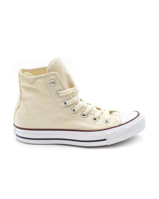 049656b50fabb2 Converse - White Chuck Taylor All Star Hi Top Sneakers for Men - Lyst ...