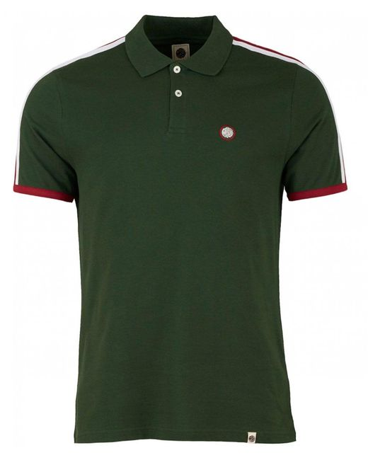 Pretty Green - Green Tilby Moon Contrast Panel Polo Shirt for Men - Lyst