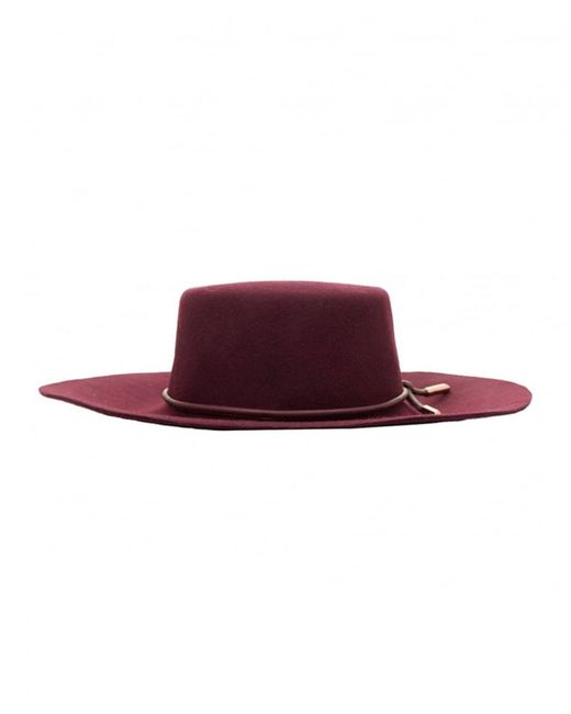 Ted Baker | Purple Fedora Felt Hat | Lyst