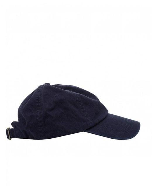 5f247ee42501d ... Polo Ralph Lauren - Blue Pp Logo Cap for Men - Lyst ...