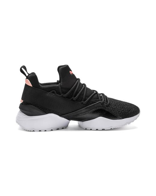 brand new c47bc af34f ... PUMA - Black Muse Maia Bio Hacking Women s Sneakers ...