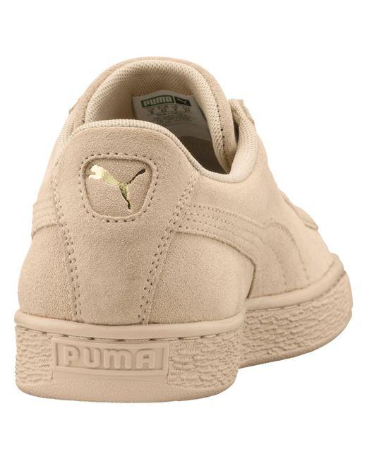 fff40c77b2d1 ... PUMA - Natural Suede Classic Tonal Fashion Sneaker for Men - Lyst ...