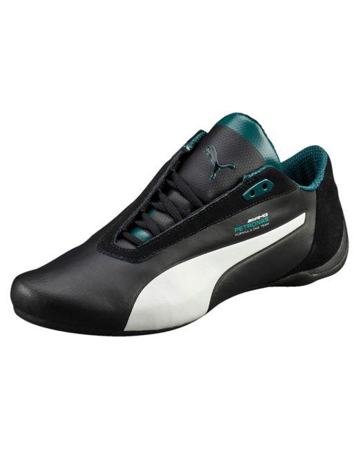 Puma mercedes future cat s2 men 39 s shoes in black for men for Puma mercedes benz