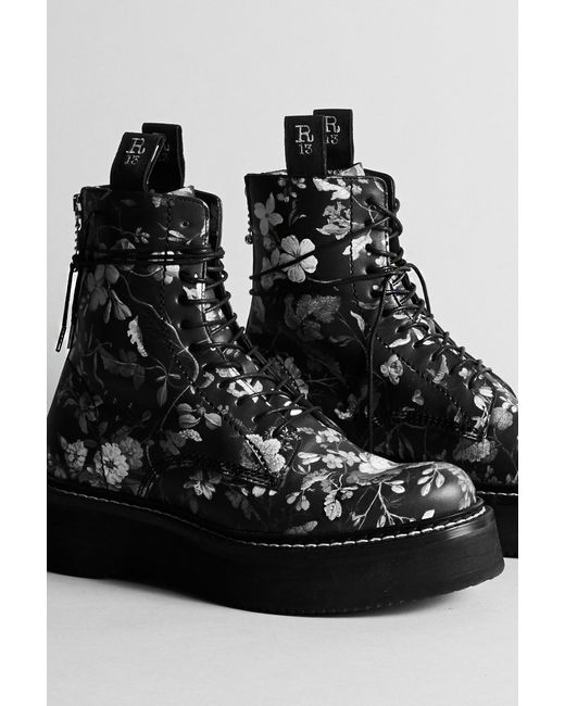 R13 - Black R13 Stack Boot - Lyst