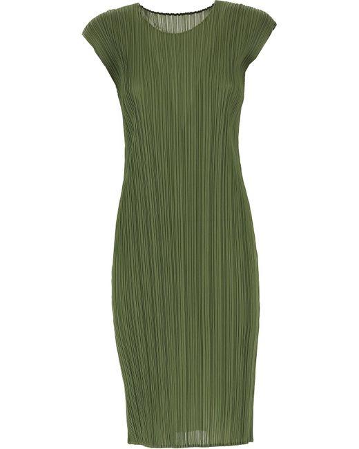 Issey Miyake Green Dress For Women