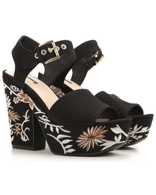 Guess | Black Shoes For Women | Lyst
