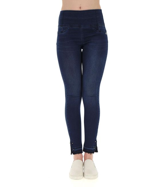Patrizia Pepe Synthetic Jeans On Sale in Midnight Blue ...
