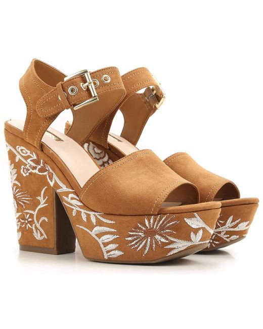 Guess | Brown Shoes For Women | Lyst