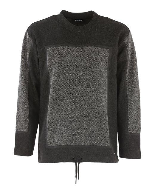 DIESEL - Black Sweatshirt For Men On Sale In Outlet for Men - Lyst