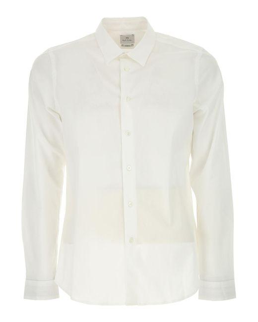 Paul Smith - White Shirt For Men On Sale for Men - Lyst