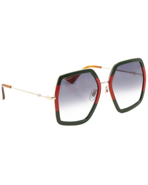 Gucci - Green Sunglasses On Sale - Lyst
