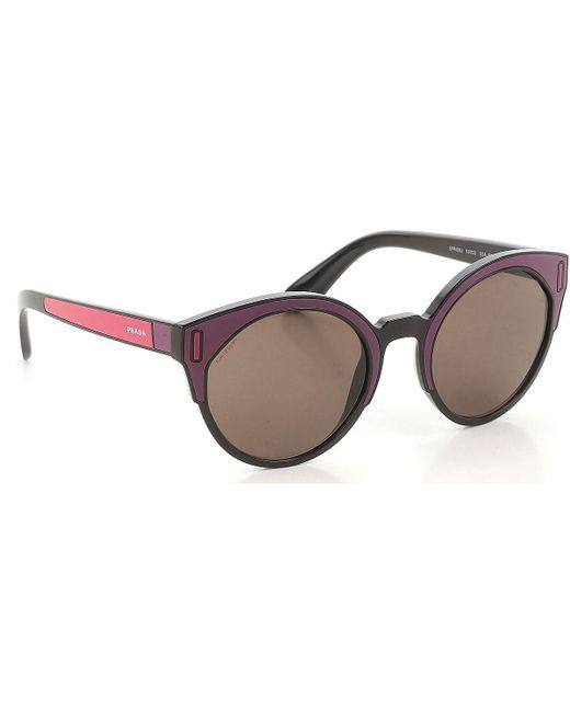 3e853e9445 Gafas y Lentes de Sol Baratos en Rebajas Prada de color Negro - Lyst
