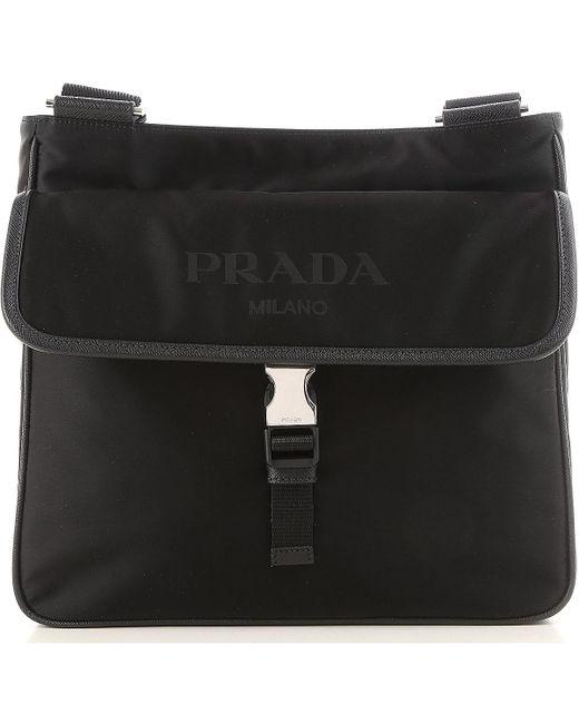 b046dbe201b7 usa prada black bags for men for men lyst bebd3 1c1b1