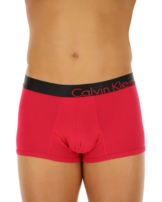 Calvin Klein - Red Underwear For Men for Men - Lyst