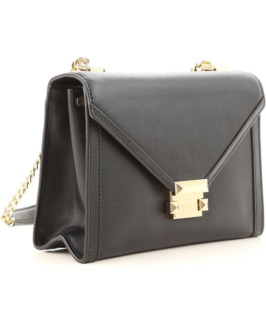 ... Michael Kors - Black Shoulder Bag For Women - Lyst ... 84f4df461